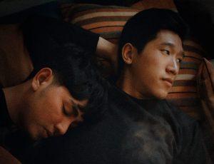 two men laying down